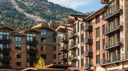 Hotel Terra on a Fall Day | Hotel Terra Jackson Hole - A Noble House Resort