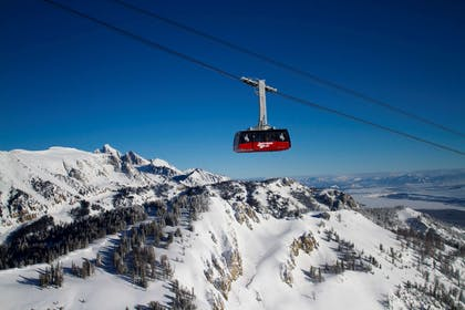 Jackson Hole Mountain Resort Winter Tram | Hotel Terra Jackson Hole - A Noble House Resort