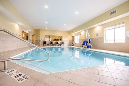 Indoor heated pool | Quality Inn & Suites Glenmont - Albany South
