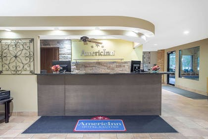 Reception | AmericInn by Wyndham Delafield