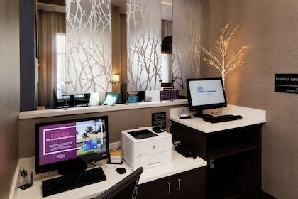 Business Center | Hampton Inn & Suites Asheville Biltmore Area, NC