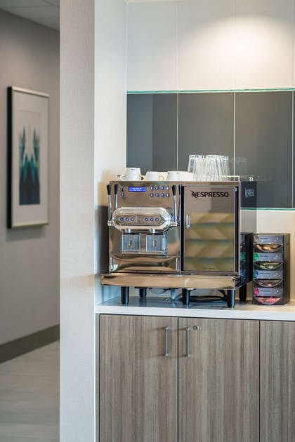 Nespresso Coffee Station | Best Western Premier Hotel at Fisher's Landing