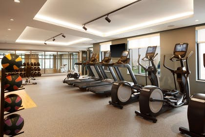 Health club fitness center gym | Embassy Suites by Hilton South Bend at Notre Dame