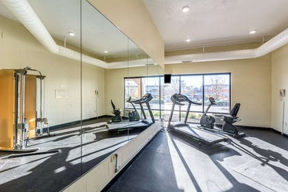 Fitness center | Quality Inn & Suites Southport