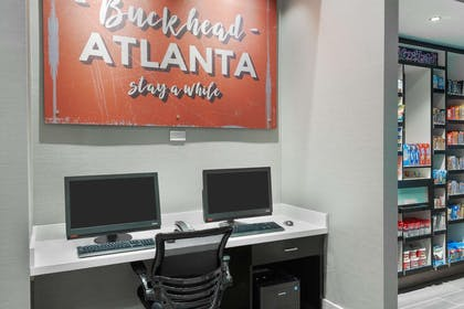 Business Center | Hampton Inn & Suites Atlanta Buckhead Place