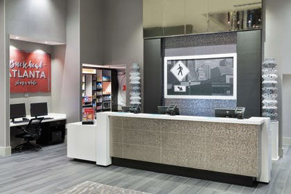 Reception | Hampton Inn & Suites Atlanta Buckhead Place
