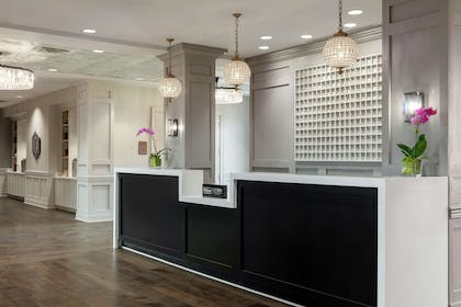 Reception | The Foundry Hotel Asheville, Curio Collection by Hilton