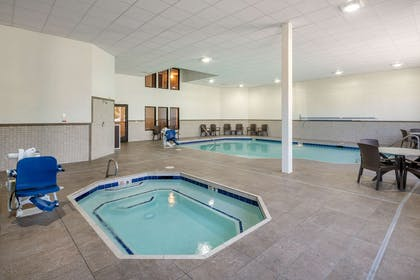 Relax in the hot tub   Comfort Inn & Suites