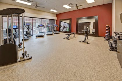 Health club | Black Fox Lodge Pigeon Forge, Tapestry Collection by Hilton