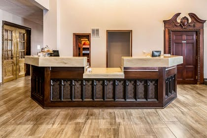 Front desk with friendly staff | Riverview Inn & Suites, an Ascend Hotel Collection Member