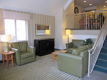 Lobby and Guest Check-in | Extended Stay America - Greenville - Haywood Mall
