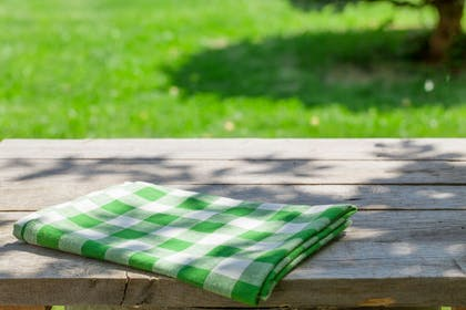 Picnic Area | Extended Stay America - Greenville - Haywood Mall