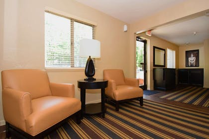 Lobby and Guest Check-in | Extended Stay America - Montgomery - Carmichael Rd.