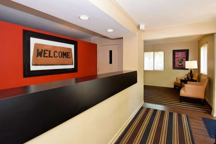 Lobby and Guest Check-in | Extended Stay America - Cincinnati - Florence - Meijer Drive