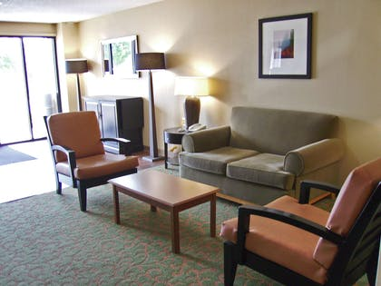 Lobby and Guest Check-in | Extended Stay America - Tulsa - Midtown