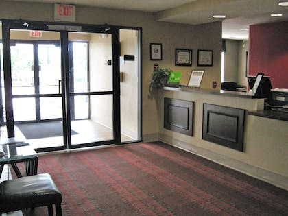 Lobby and Guest Check-in | Extended Stay America - Greenville - Airport