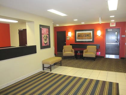 Lobby and Guest Check-in | Extended Stay America - Portland - Vancouver