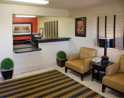 Lobby and Guest Check-in | Extended Stay America - Akron - Copley - East