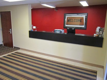 Lobby and Guest Check-in | Extended Stay America - Rochester - Greece