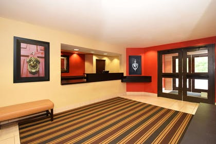 Lobby and Guest Check-in   Extended Stay America Lynchburg - University Boulevard