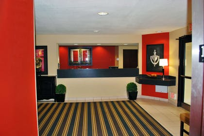 Lobby and Guest Check-in   Extended Stay America - St. Louis - O' Fallon, IL