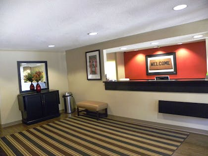 Lobby and Guest Check-in | Extended Stay America - Houston - I-45 North