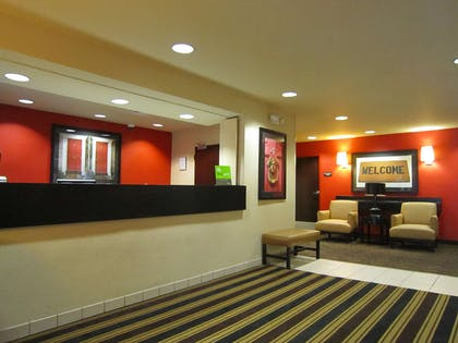 Lobby and Guest Check-in | Extended Stay America - New Orleans - Airport