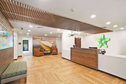 Lobby and Guest Check-in | Extended Stay America San Francisco - San Mateo - SFO