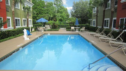 Swimming Pool | Extended Stay America -Orlando-Lake Mary-1040 Greenwood Blvd