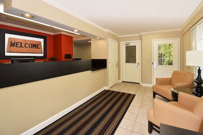 Lobby and Guest Check-in | Extended Stay America - Fort Lauderdale - Davie