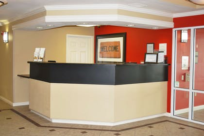 Lobby and Guest Check-in | Extended Stay America - St. Louis - Westport - Central