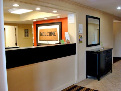Lobby and Guest Check-in | Extended Stay America - Meadowlands - East Rutherford