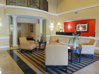 Lobby and Guest Check-in   Extended Stay America- Kansas City - Overland Park - Metcalf