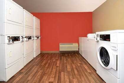 On-Premise Guest Laundry   Extended Stay America- Kansas City - Overland Park - Metcalf