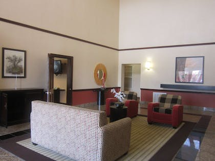 Lobby and Guest Check-in   Extended Stay America Houston - Stafford