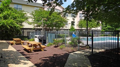 Picnic Area | Extended Stay America - Raleigh - RTP - 4919 Miami Blvd.