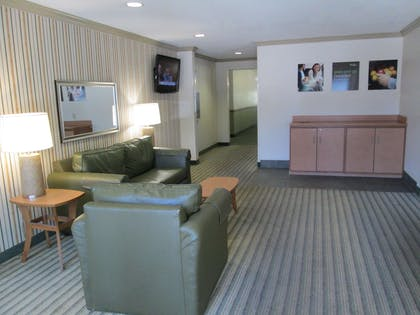 Lobby and Guest Check-in | Extended Stay America - Dallas - Bedford