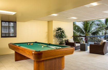 The Residences at Waikiki Beach Tower - Pool Table | Aston Waikiki Beach Tower