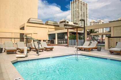 The Residences at Waikiki Beach Tower - Pool Deck | Aston Waikiki Beach Tower