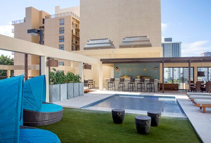 The Residences at Waikiki Beach Tower - Upper Wading Pool Deck | Aston Waikiki Beach Tower