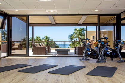 The Residences at Waikiki Beach Tower - Yoga Room | Aston Waikiki Beach Tower