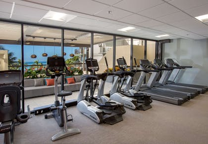 The Residences at Waikiki Beach Tower - Fitness Center Details | Aston Waikiki Beach Tower