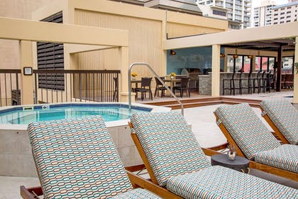 The Residences at Waikiki Beach Tower - Hot Tub Barbecue | Aston Waikiki Beach Tower