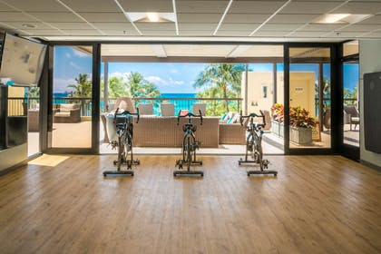 The Residences at Waikiki Beach Tower - Gym Exercise Bikes | Aston Waikiki Beach Tower