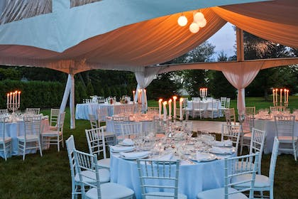 Tent Reception | Westminster Hotel