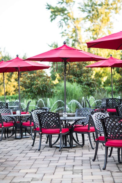 Exterior seating area at Westminster Hotel | Westminster Hotel