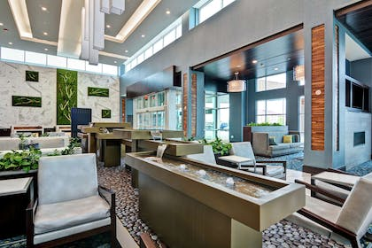 Lobby | Embassy Suites by Hilton Plainfield Indianapolis Airport
