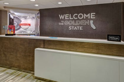 Reception | Hampton Inn & Suites San Jose Airport