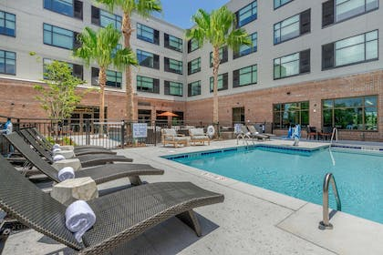 Outdoor pool   Cambria Hotel Charleston Riverview