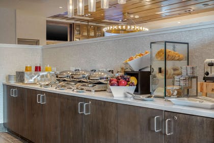 Breakfast setup for meeting or event   Cambria Hotel Charleston Riverview